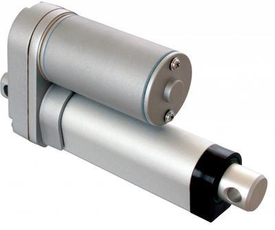 DC Linear-Motor / Elektrozylinder 24VDC, Hub-Länge 100mm, max. Schubkraft 300N, Geschwindigkeit bei