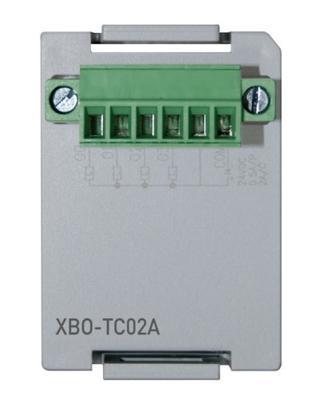 Optionsmodul Widerstandstemperaturfühler (PT100/JPT100) für XEC